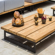 quality outdoor teak coffee table by skyline design