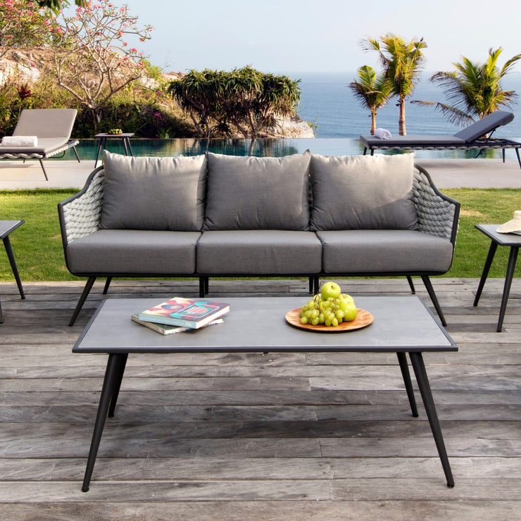 skyline designs stunning outdoor coffee table