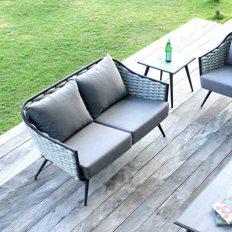 2 seater outdoor sofa by skyline design