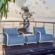 quality outdoor ottoman by skyline design