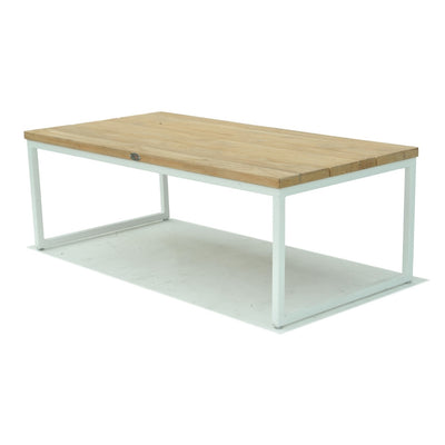 Nautic Rectangle Coffee Table - White Wash