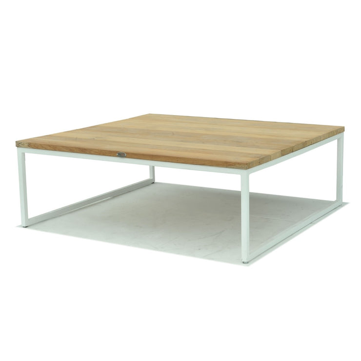 Nautic Square Coffee Table - White Wash