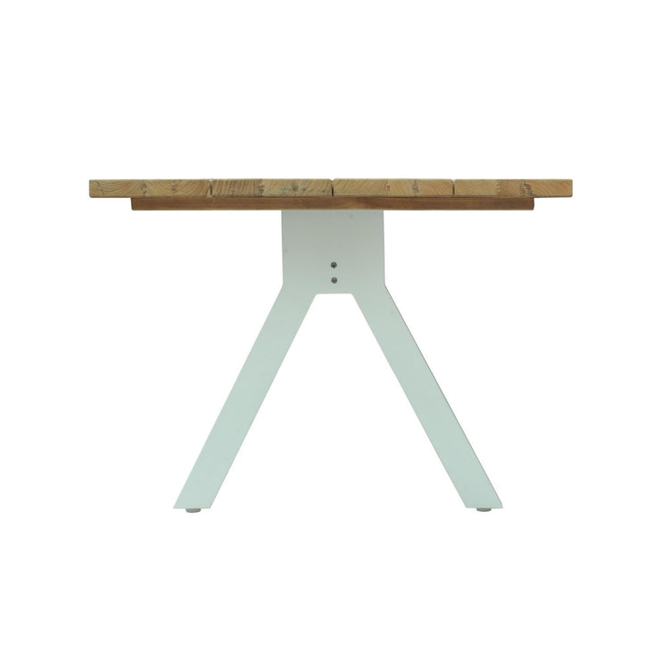 Alaska Rectangular Dining Table - White Matte