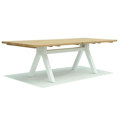 Alaska Rectangular Dining Table - White Matte 2500