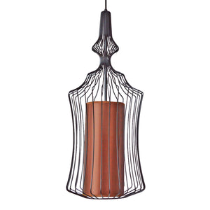 Pendant Light Wire Frame Airy With Diffuser