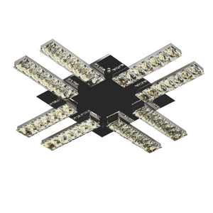 Crystal Ceiling Light LED Modern Linear