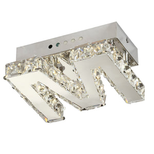 M-1W1I10X-crystal-LED-flush-ceiling-lights-letter-m
