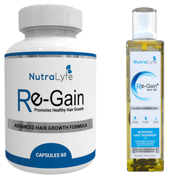 NUTRALYFE HAIR CARE COMBO- REGAIN & RE-GAIN+