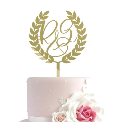 Cake toppers - First letters