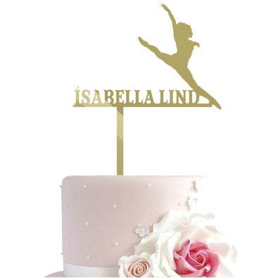Cake toppers - jazzballet