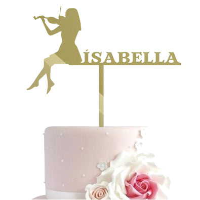 Cake toppers - Violin