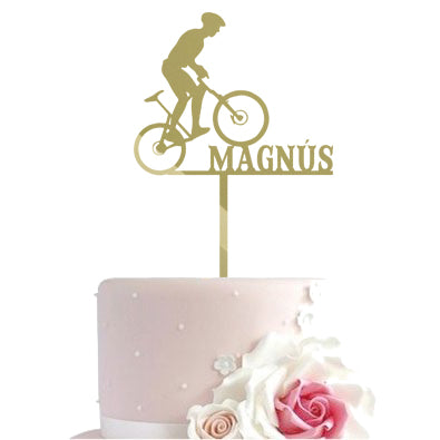 Cake toppers - bicycle