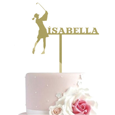 Cake toppers - Golf