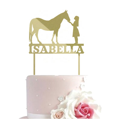 Cake toppers - horse