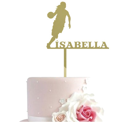 Cake toppers - basketball