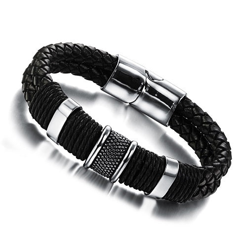 Leather Men's Bracelet #2