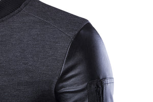 Bomber Leather Sleeves