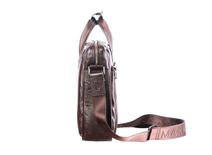 Natural Cowskin Business bag