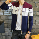 Knitted Sweater With Zipper