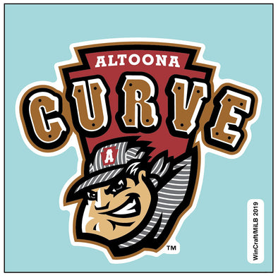 Altoona Curve Perfect Cut Primary Logo