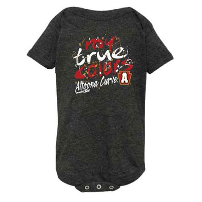 Altoona Curve Infant Onesie - Smoke