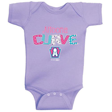 Altoona Curve Infant Bodysuit - Lavender