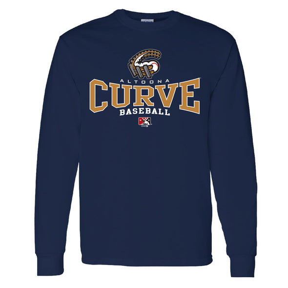 Altoona Curve Men's Long Sleeve Pense Tee