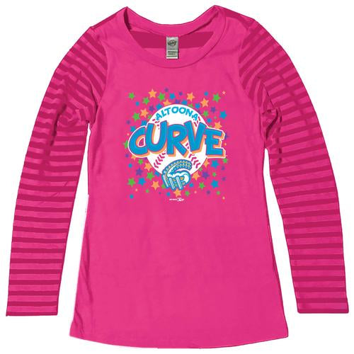 Altoona Curve Youth Long Sleeve Striped