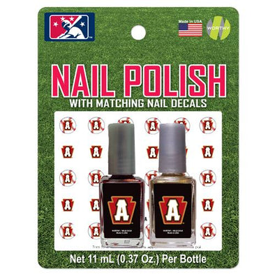 Altoona Curve Nail Polish with Decals