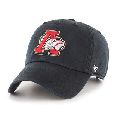 Altoona Curve Youth Cleanup Cap - Black