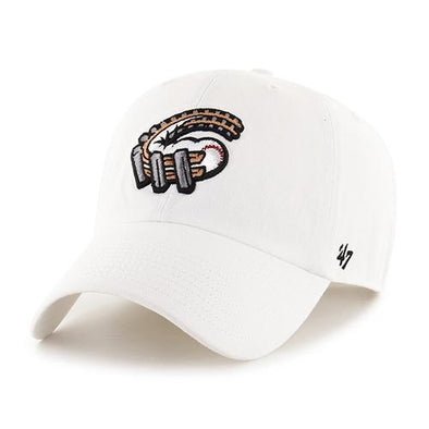Altoona Curve Cleanup Cap - White