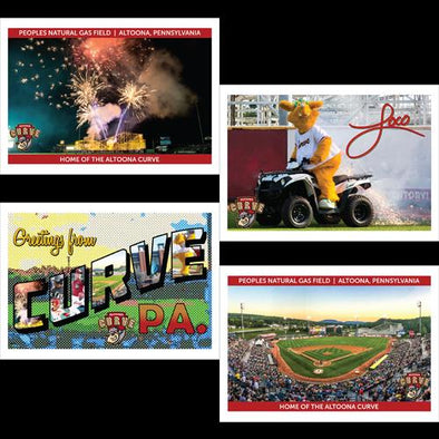 Altoona Curve Postcards