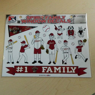 Altoona Curve Family Car Stickers