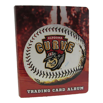 Altoona Curve Trading Card Album