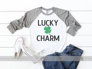 a9fb630a Lucky Charm | Cute St Patricks Day Shirt Women | Saint Patricks Day | Funny  St