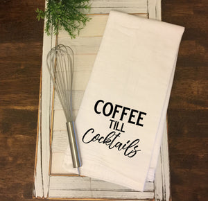 Coffee Till Cocktails