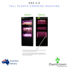 Load image into Gallery viewer, KES 2.0. Tall Plants Growing Machine