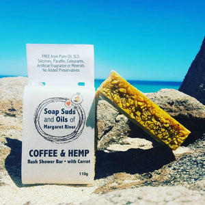 Hemp Infused Soap - Soap Suds & Oils 3 x Pack