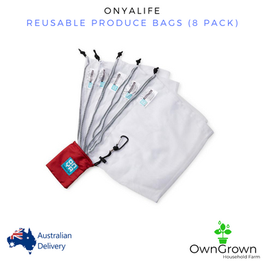 Reusable Produce Bags (8 Pack) By ONYA.Life