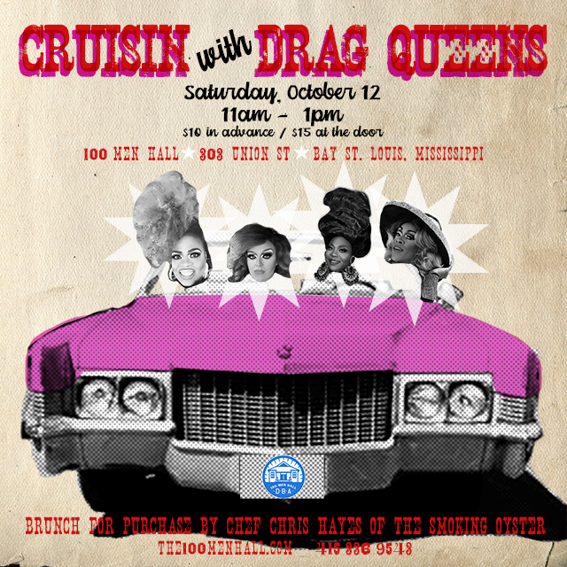 x - CRUISIN WITH DRAG QUEENS