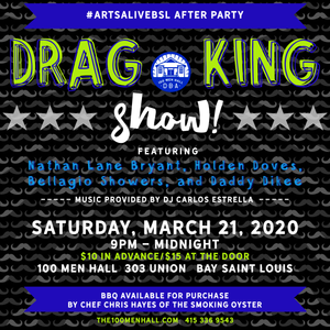DRAG KINGS - Arts Alive After Party!