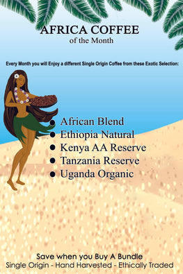 African Coffees of The Month Gift Subscription