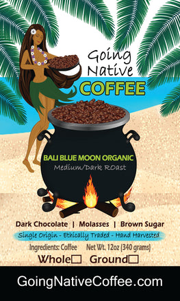 Bali Blue Moon Organic - Going Native Coffee Club
