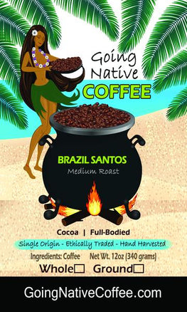 Brazil Santos Fine Cup, 17/18 Subscription - Going Native Coffee Club