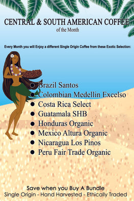 Central & South American Coffee of The Month Subscription