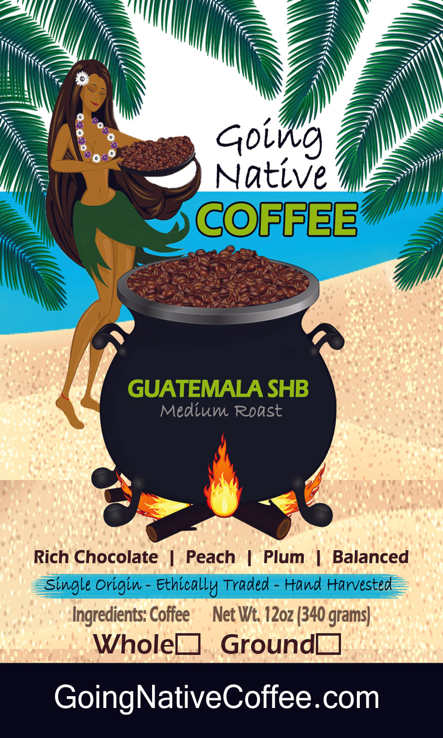 Guatamala SHB Coffee - Going Native Coffee Club