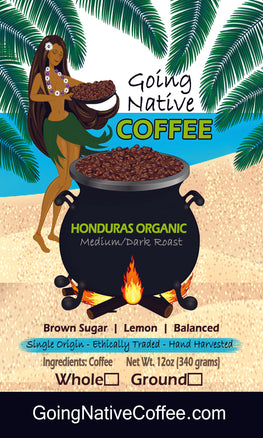 Honduras Organic SHG, EP Subscription - Going Native Coffee Club