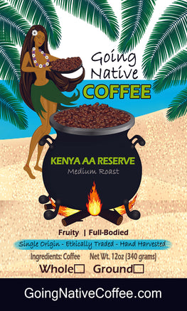 Kenya AA Reserve Subscription - Going Native Coffee Club