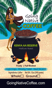 Kenya AA Reserve - Going Native Coffee Club