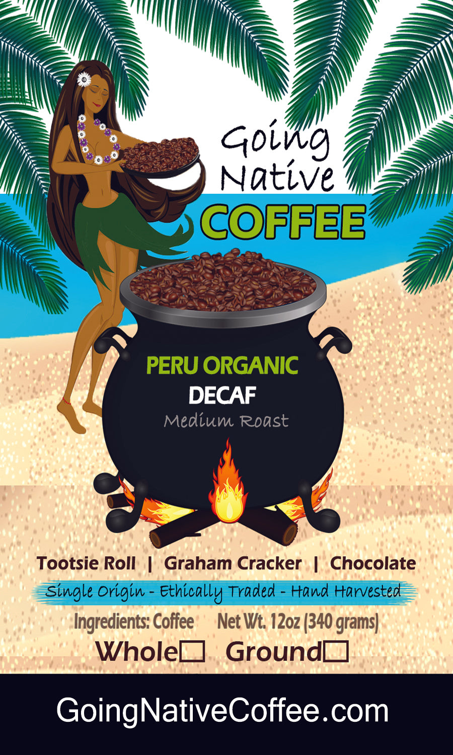 Peru Organic Swiss Water Decaf Subscription - Going Native Coffee Club